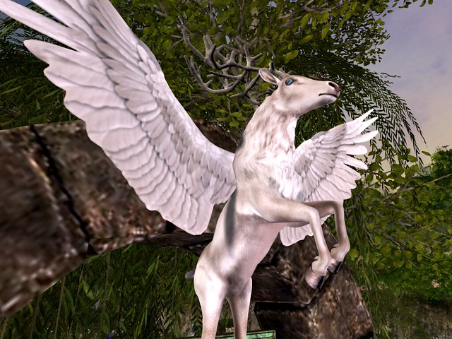 Enchantment Presents: King Arthur - Winged White Stag
