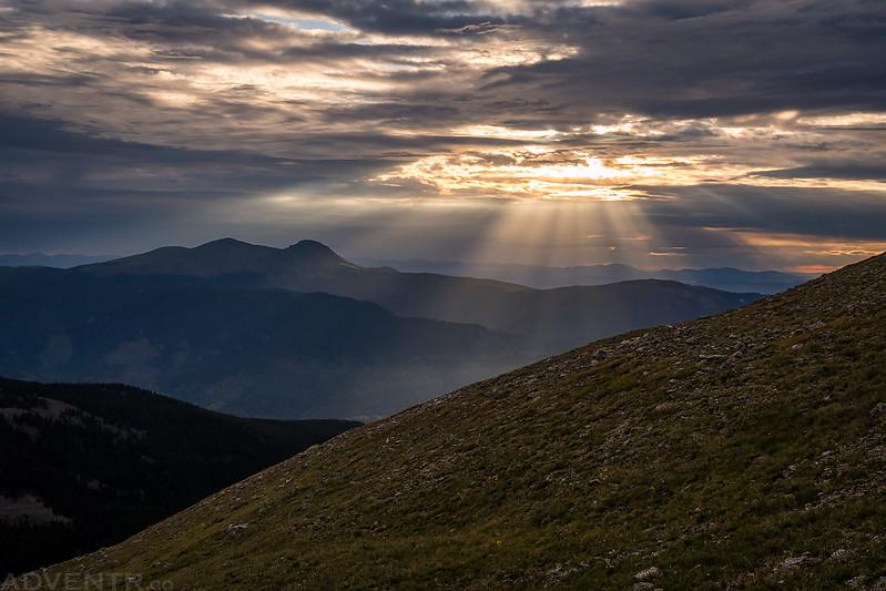 Buffalo Peaks & Sunlight