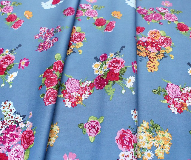 Art Gallery Fabrics Floralish Cascading Blossoms