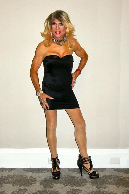 Cortney - Blonde in Black
