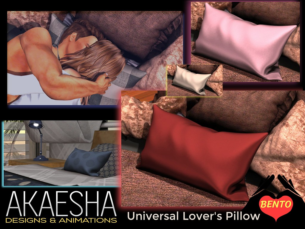 Lover's Bento Pillow (use with any bed)