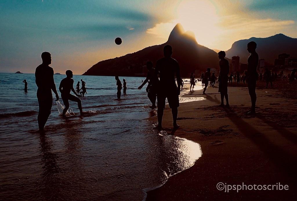 Football on Ipanema