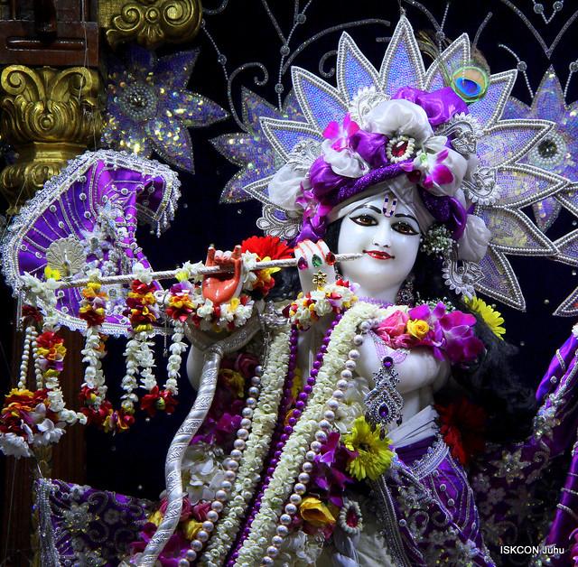 ISKCON Juhu Sringar Deity Darshan on 14th Aug 2019