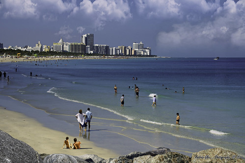 southbeach southpointerbeach pointofview seashore sobe seascape waves beach beachscape beachshore beautifulpeople urbanexploration outdoors architecture afternoon rock people perspective