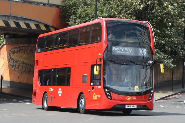 YW19 VPX (EH327) Go-Ahead London Metrobus