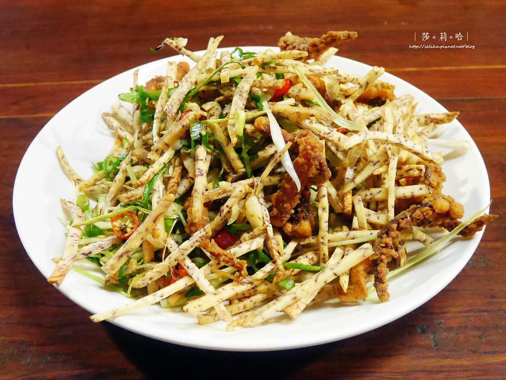 台北公館站台大好吃熱炒庭園餐廳推薦享你好酒不見 (3)