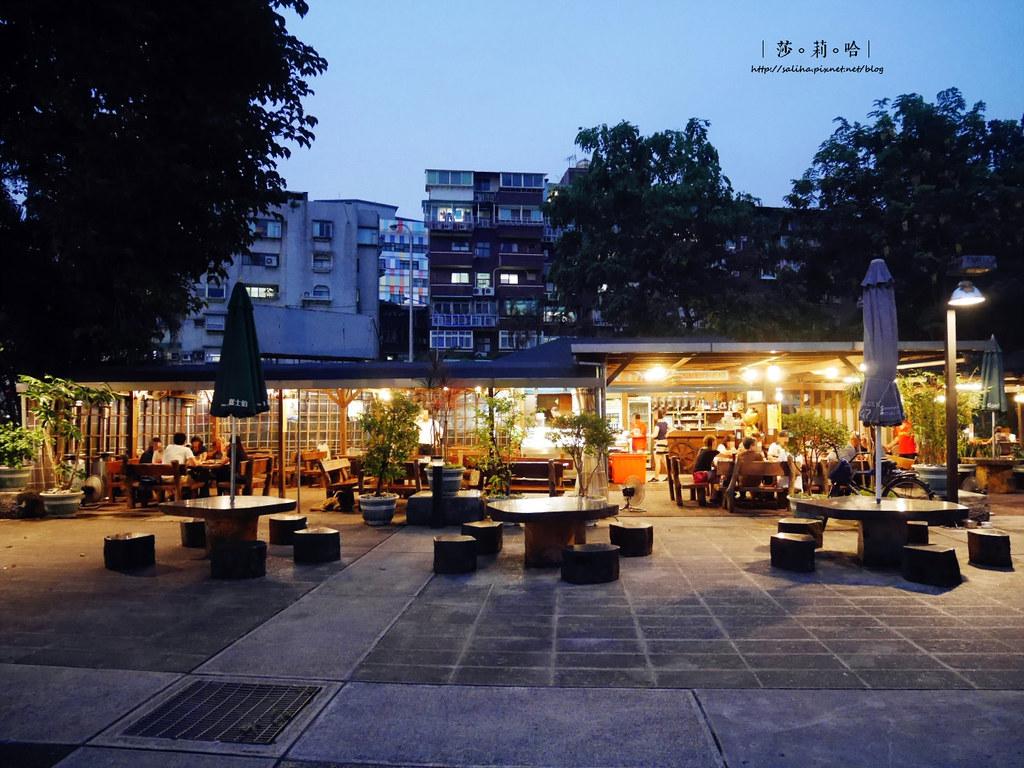 台北公館好吃熱炒露天庭園餐廳推薦享你好酒不見 (1)