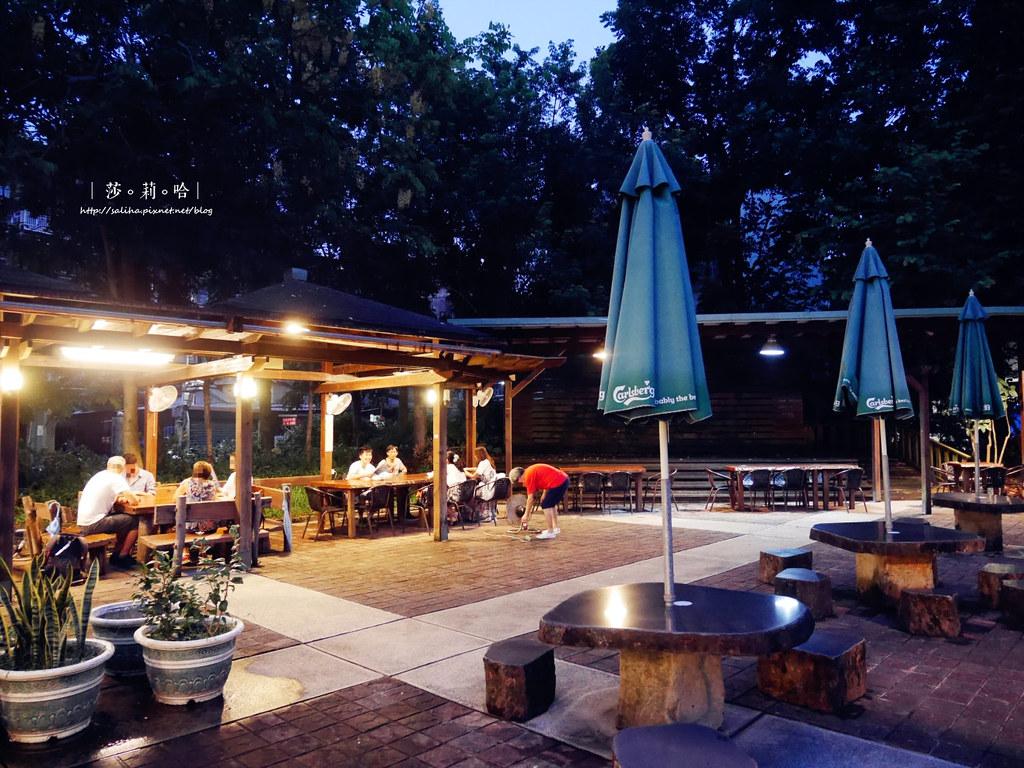 台北中正區公館站附近好吃百元熱炒庭園餐廳推薦享你好酒不見 (1)