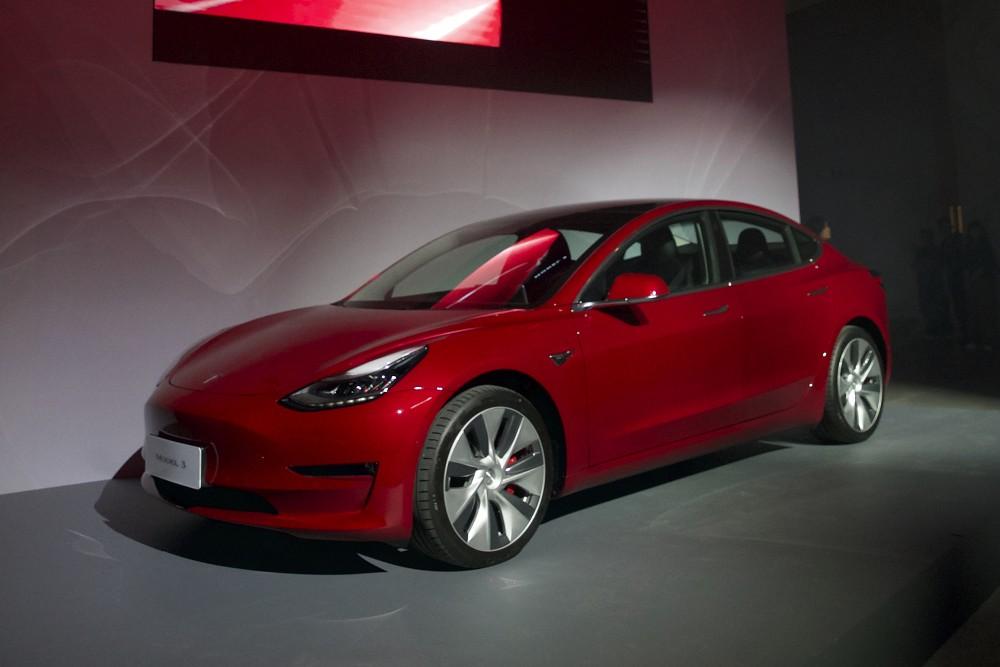 Tesla 台灣 Model 3 正式亮相_3