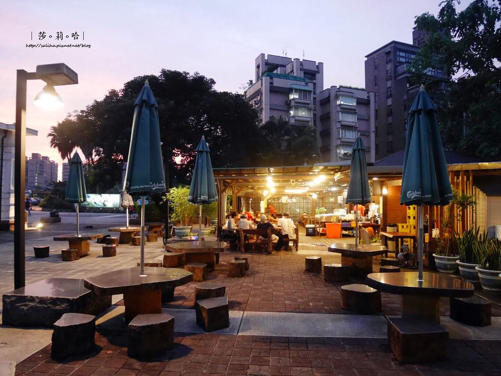 台北公館好吃熱炒庭園餐廳推薦享你好酒不見多人朋友聚餐 (1)
