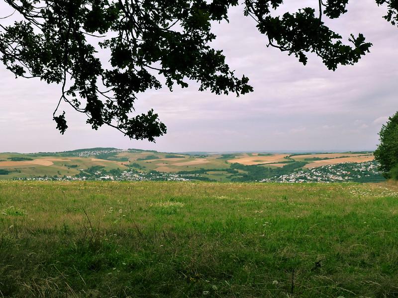 Blick Richtung Pellingen, Pluwig und Gusterath