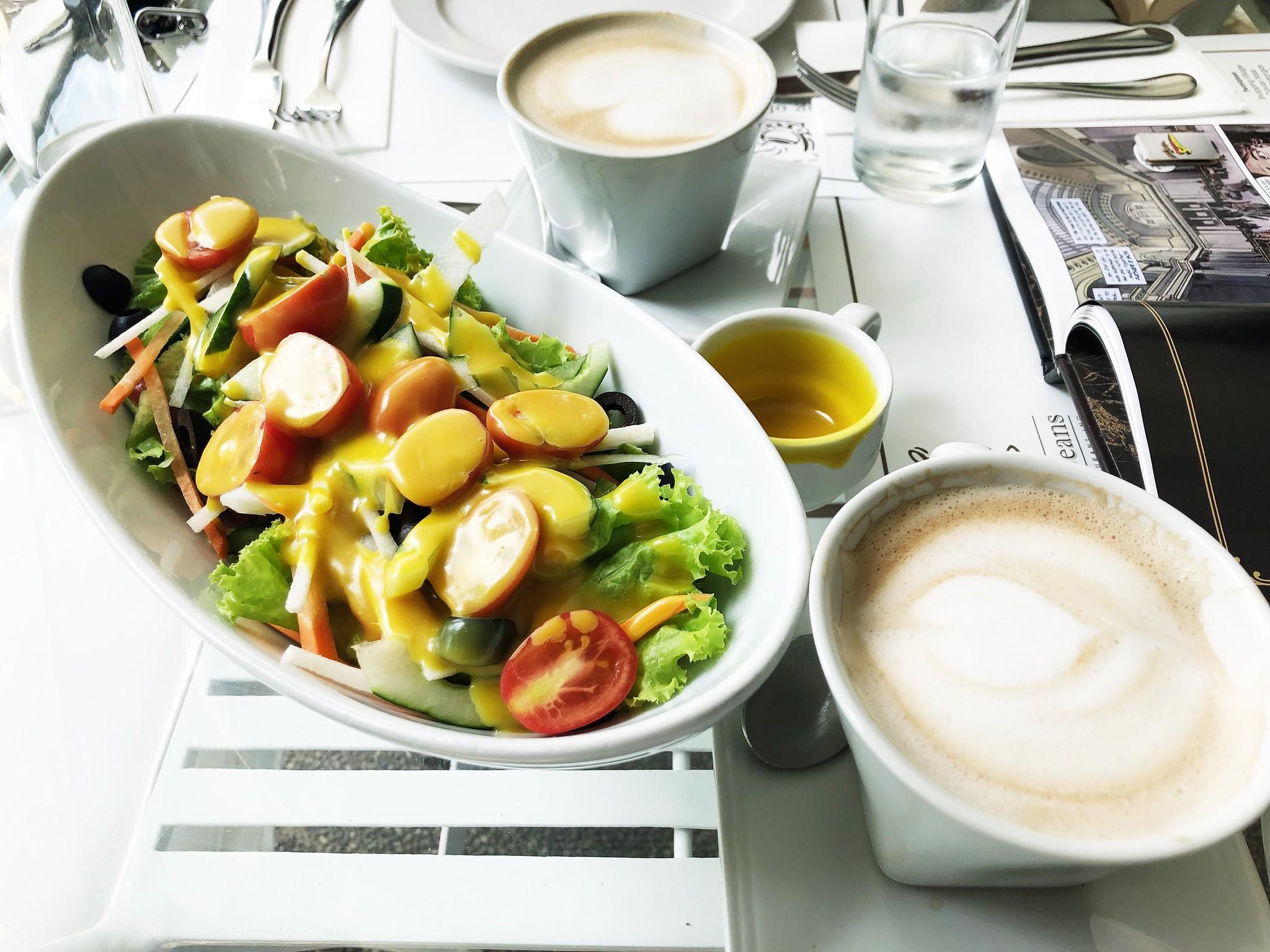 Cẩm nang ăn uống ở Tagaytay - garden salad