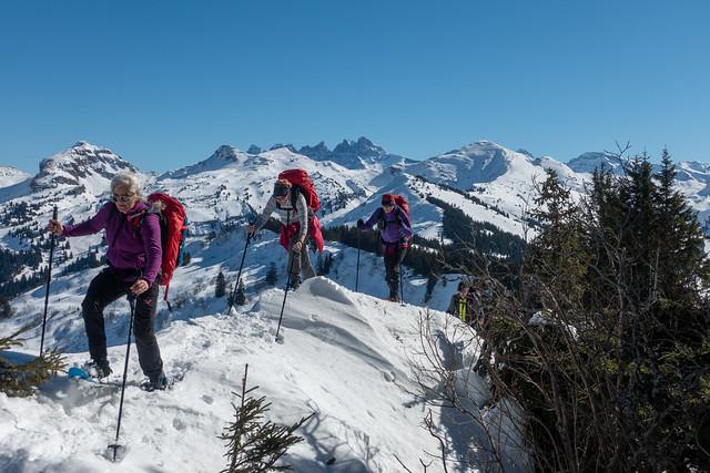 Basiscursus Sneeuwschoenwandelen in de Haute Savoie