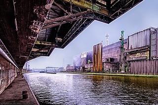 Charleroi Urbex - Thy-Marcinelle steelworks near the Sambre