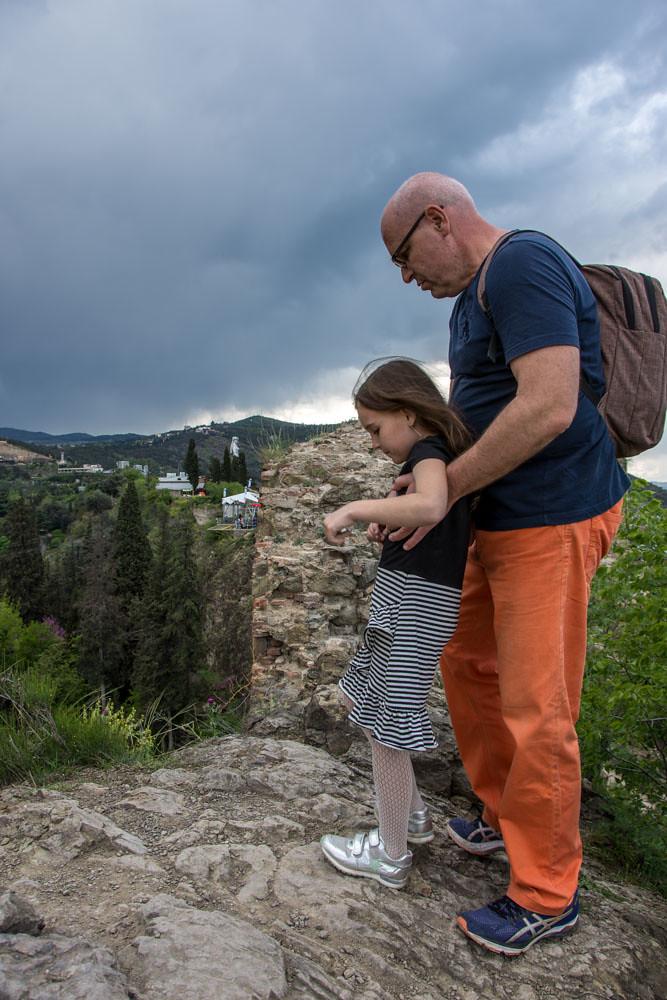 Тбилиси крепость Нарикала