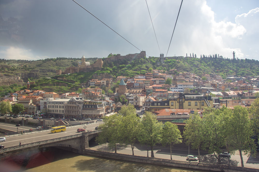 Тбилиси канатная дорога