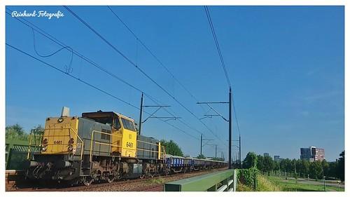 DB-Cargo 6461 Lelystad-Centrum (NL)