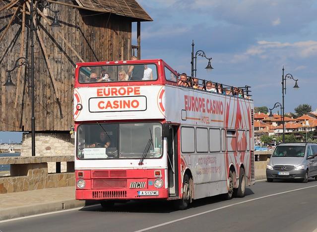 A5137MC MCW Ex Hong Kong Tri Axle Metrobus - Bulgaria