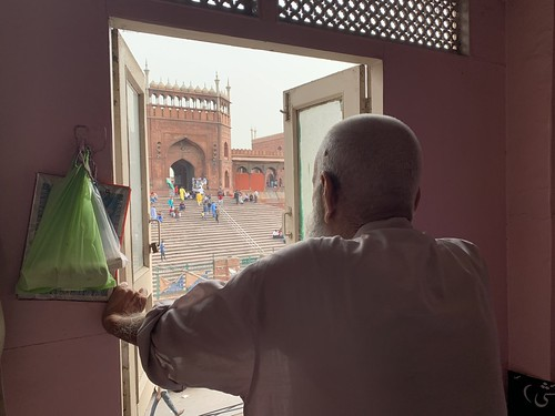 Home Sweet Home - A Window View, Opposite Jama Masjid