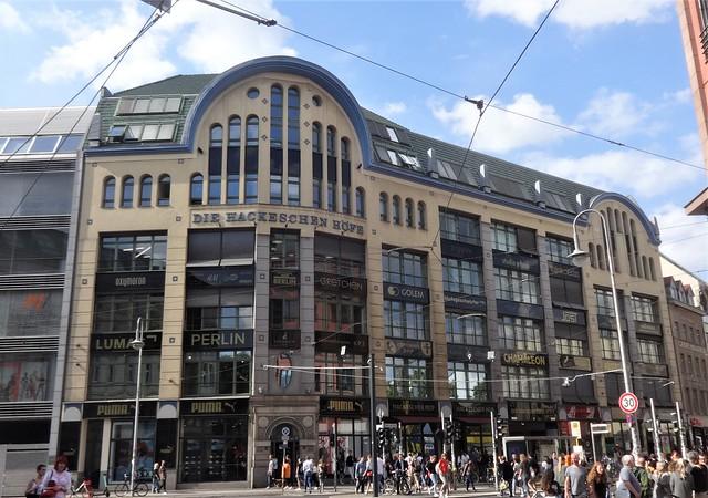 1906/07 Berlin Hackesche Höfe in Jugendstil von Kurt Berndt/August Endell Rosenthaler Straße 40-41 Sophienstraße 6 in 10178 Spandauer Vorstadt
