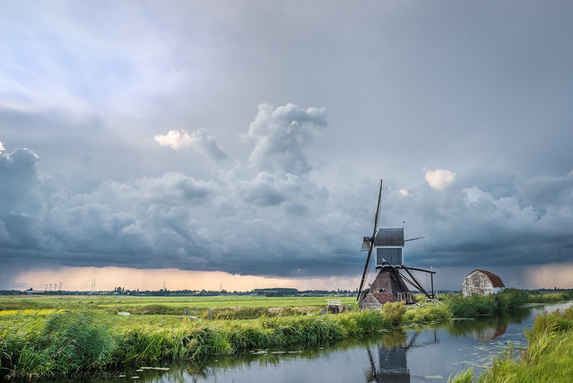 Storm Clouds over the Dutch Polder