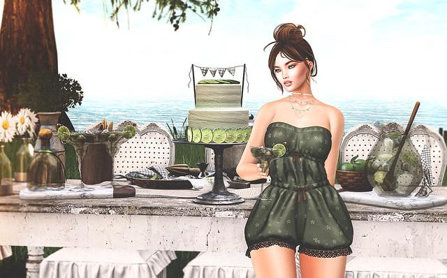 Margartia & Lime Cake
