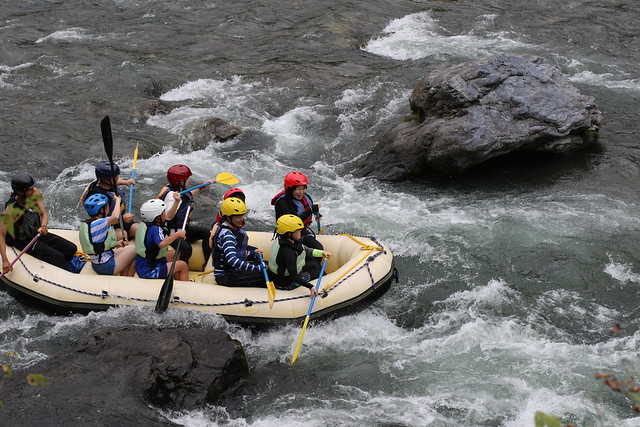 Thrill of River Boat