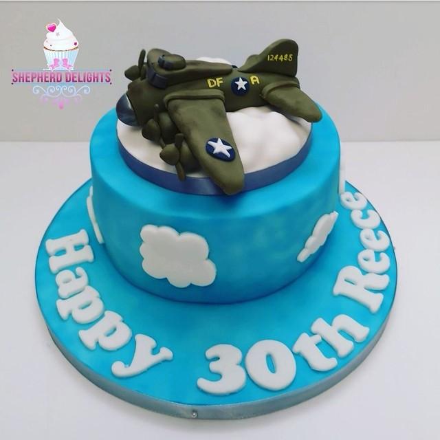 Sally B Plane Novelty Cake