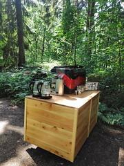 Mobile Kaffee Catering Kaffeebar neu bei #hummercatering