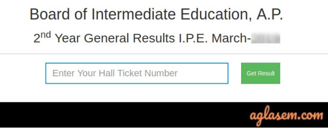 AP Inter Results Login
