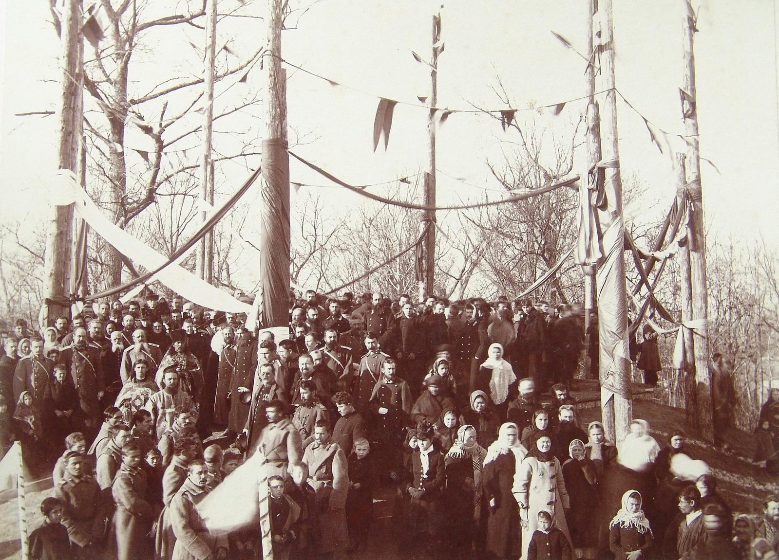 14. 1891. Хабаровка. Открытие памятника Муравьеву-Амурскому