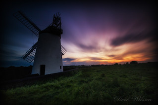 Coloured Sky at the Windmill