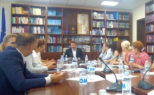 14.08.2019 Comisia Economie, Buget și Finanțe la masa consultărilor cu reprezentanții unor asociații și grupuri de afaceri din Republica Moldova