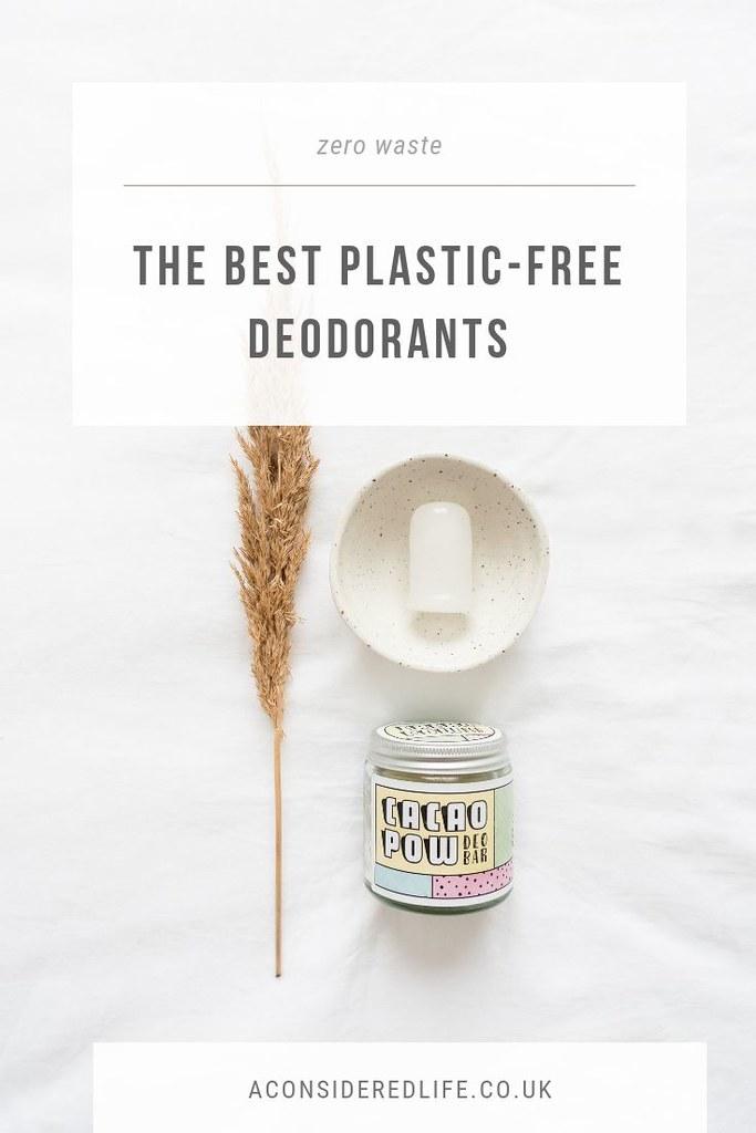 Zero Waste Deodorant