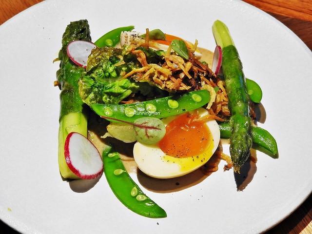 Grilled Romaine Lettuce & Vegetables
