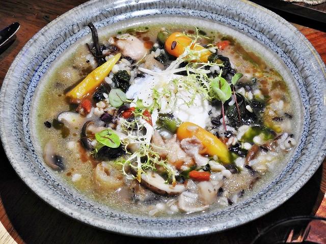 Chicken & Mushroom Grains Stew