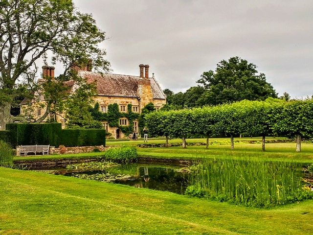 Bateman's  -  Rudyard Kipling's House in East Sussex,  England.  (Mobile phone shot)