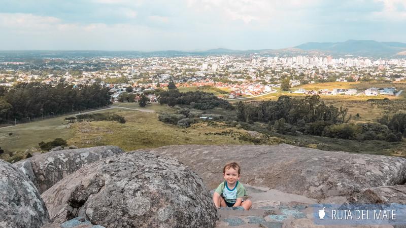 Viajar con niños a Tandil, desde piedra movediza