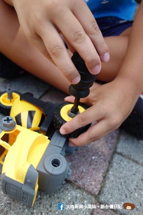 My Children 麥琪親子選物 SMART積木車 訓練手部小肌肉 手眼協調 (48)