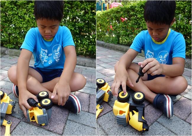 My Children 麥琪親子選物 SMART積木車 訓練手部小肌肉 手眼協調 (16)