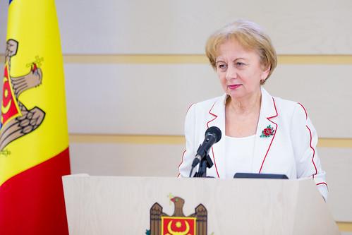 14.08.2019 Declarația de presă a Președintelui Parlamentului Zinaida Greceanîi