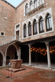 Ca' d'Oro - The courtyard