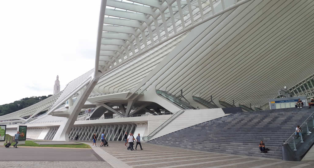 Station Liège Guillemins, door Calatrava #liegetogether | Mooistestedentrips.nl