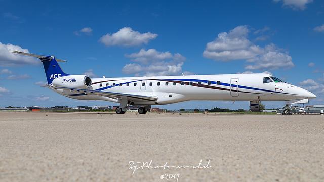 ACE/JetNetherlands Embraer ERJ145 PH-DWA