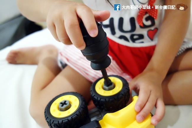 My Children 麥琪親子選物 SMART積木車 訓練手部小肌肉 手眼協調 (40)