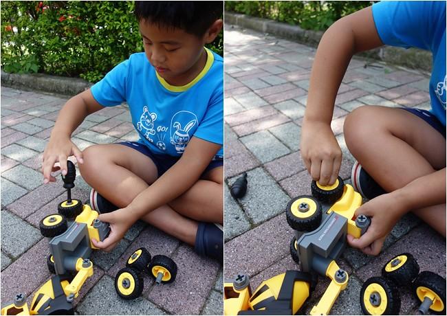 My Children 麥琪親子選物 SMART積木車 訓練手部小肌肉 手眼協調 (15)