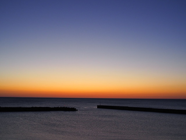 after sunset