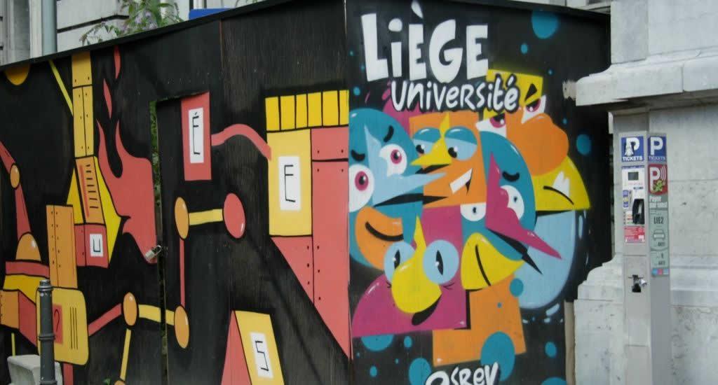 Street art in Luik | Mooistestedentrips.nl