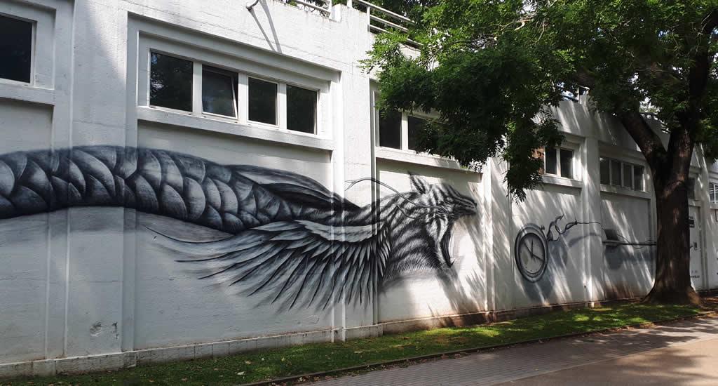 Street art in Luik bij La Boverie | Mooistestedentrips.nl