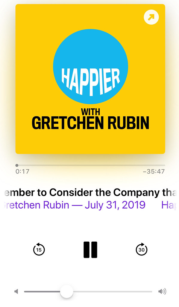 Happier Podcast by Gretchen Rubin and Elizabeth Craft